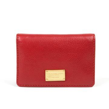 红色牛皮手拿包
