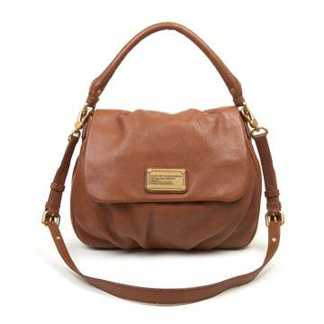浅棕色牛皮手提包