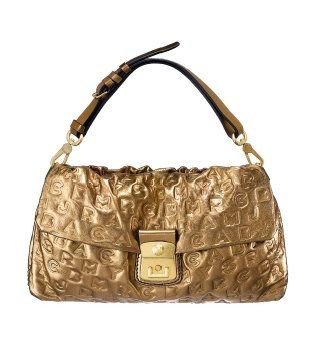 DREAMY LOGO系列LINDA CLUTCH金色手袋