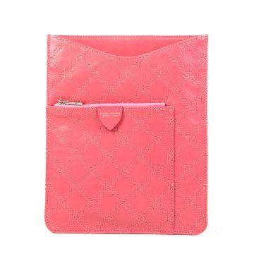 粉色皮革Ipad套