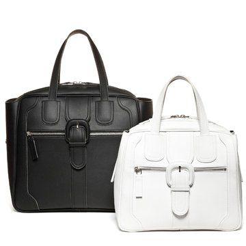 2012冬季新款黑白手拎包