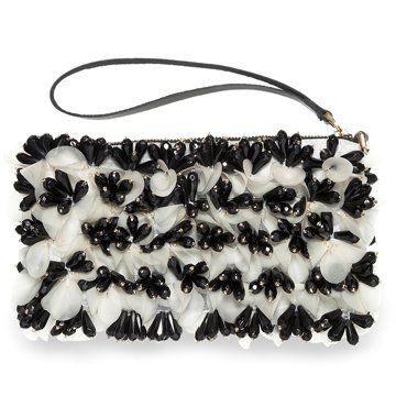 2012冬季新款黑白手拿包