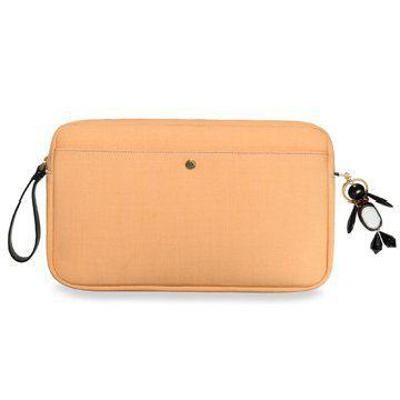 2012冬季新款橘色手拿包