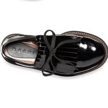 2012早秋黑色平底鞋