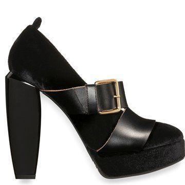 2012早秋黑色高跟鞋