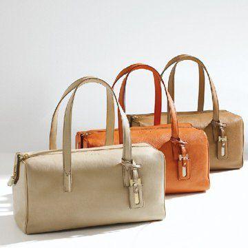 2011春夏MISS多色纯皮女士波士顿手提袋