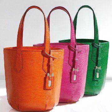 2011春夏GALA多彩纯皮双手提女士购物袋手提袋