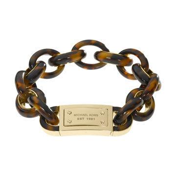 琥珀锁链式手链