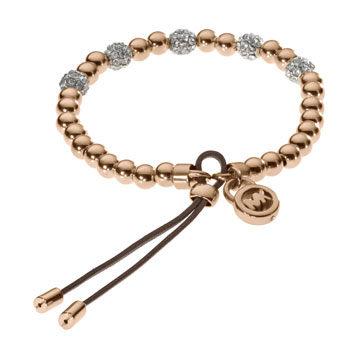 玫瑰金钻石手链