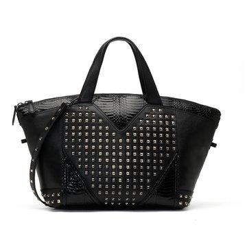 北京周年庆限量系列黑色手提包