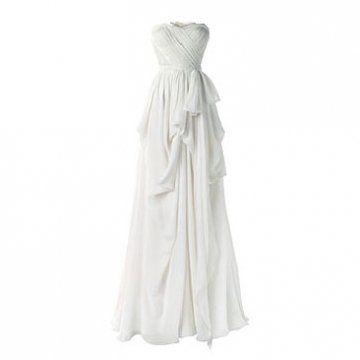 薄丝绸礼服