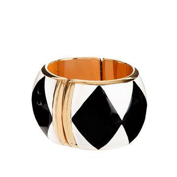 黑色菱形手环
