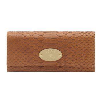 棕色皮革手包
