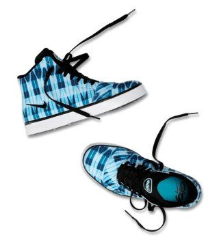 Balsa Mid蜡染图案中帮鞋