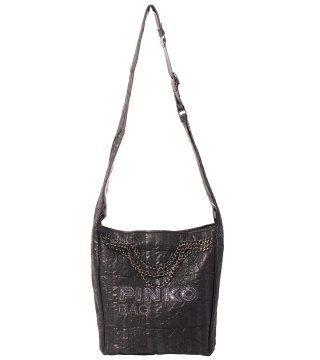 金属链饰挎包