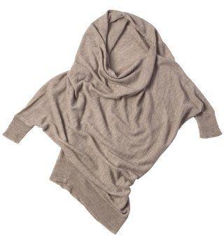 蝙蝠袖针织衫