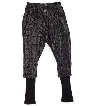 黑色哈伦裤