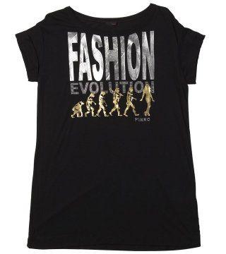 黑色印字宽版T恤