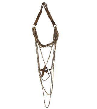 十字架坠饰项链