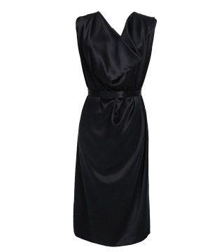 黑色鸡尾酒小礼裙