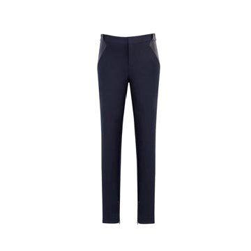 黑色西装长裤