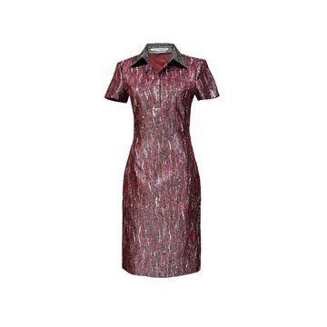丝质连身裙