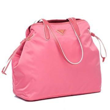 2011年粉色尼龙抽口购物袋