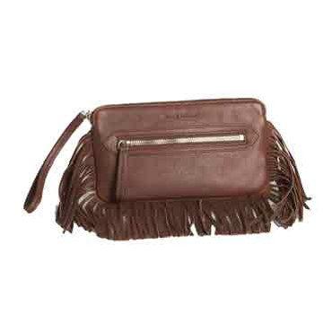 褐色手拿包