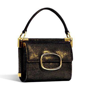 黑色金属感手提包