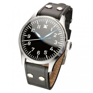 Flieger without logo系列 strap in old style, black