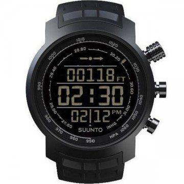 Terra-山雄系列 全黑橡胶电脑芯片腕表