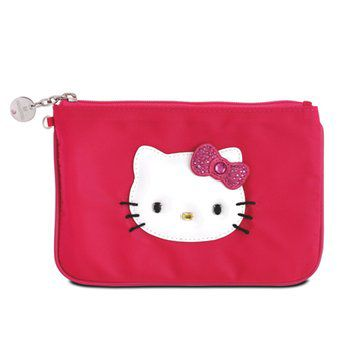 hello kitty红色零钱包