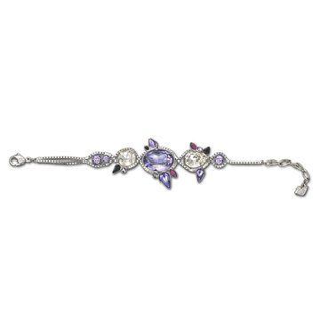 淡紫色花瓣手链
