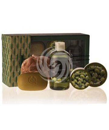 美体小铺橄榄身体护理礼盒