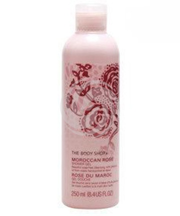 美体小铺摩洛哥玫瑰沐浴及按摩油