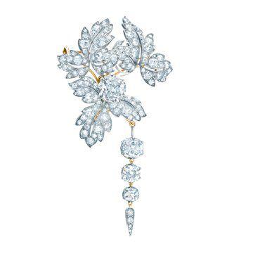 法国皇室珠宝钻石胸针