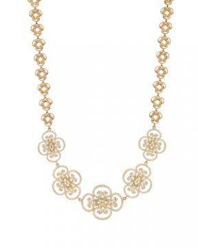 毕加索Goldoni18k黄金镶钻项链