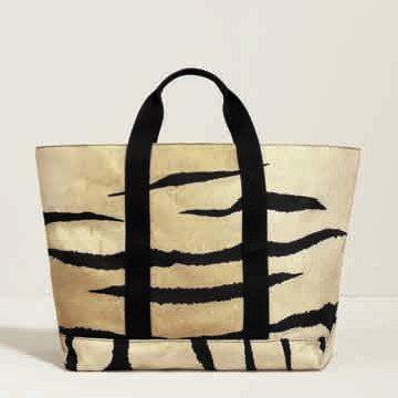 虎纹购物袋