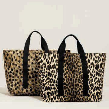 豹纹购物袋