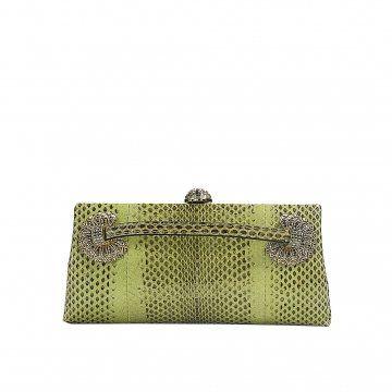 绿色手拿包