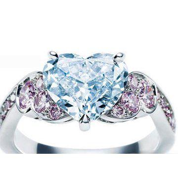 高级珠宝系列铂金钻石婚戒