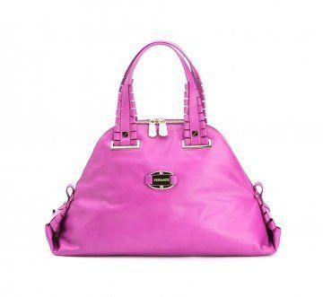 09春夏系列紫粉色小牛皮包