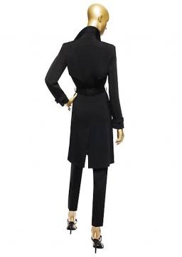 DV Black Trench Coat