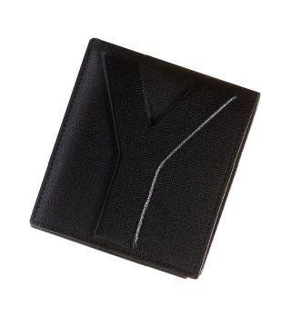 黑色双袋钱包