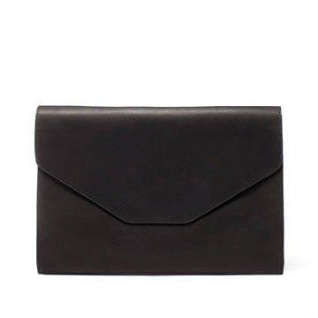 黑色牛皮手拿包