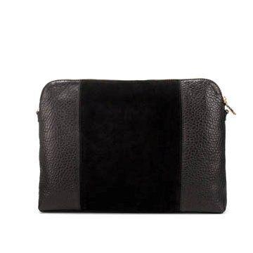 黑色羊皮信封包
