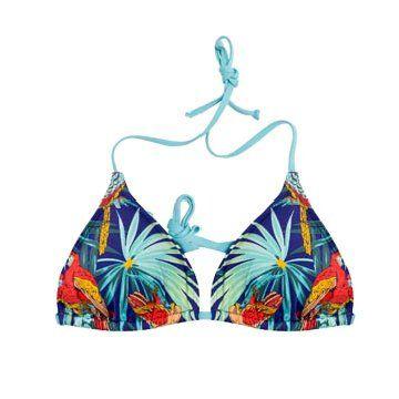 夏威夷印花泳衣
