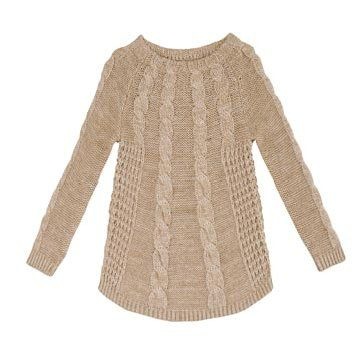 咖色羊毛针织衫