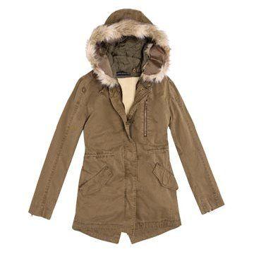 咖色尼龙外套