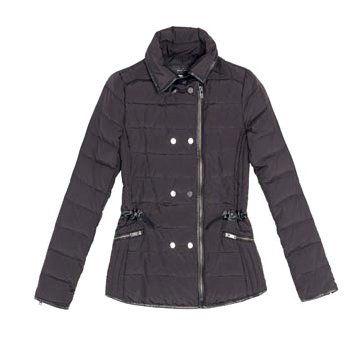 黑色尼龙外套